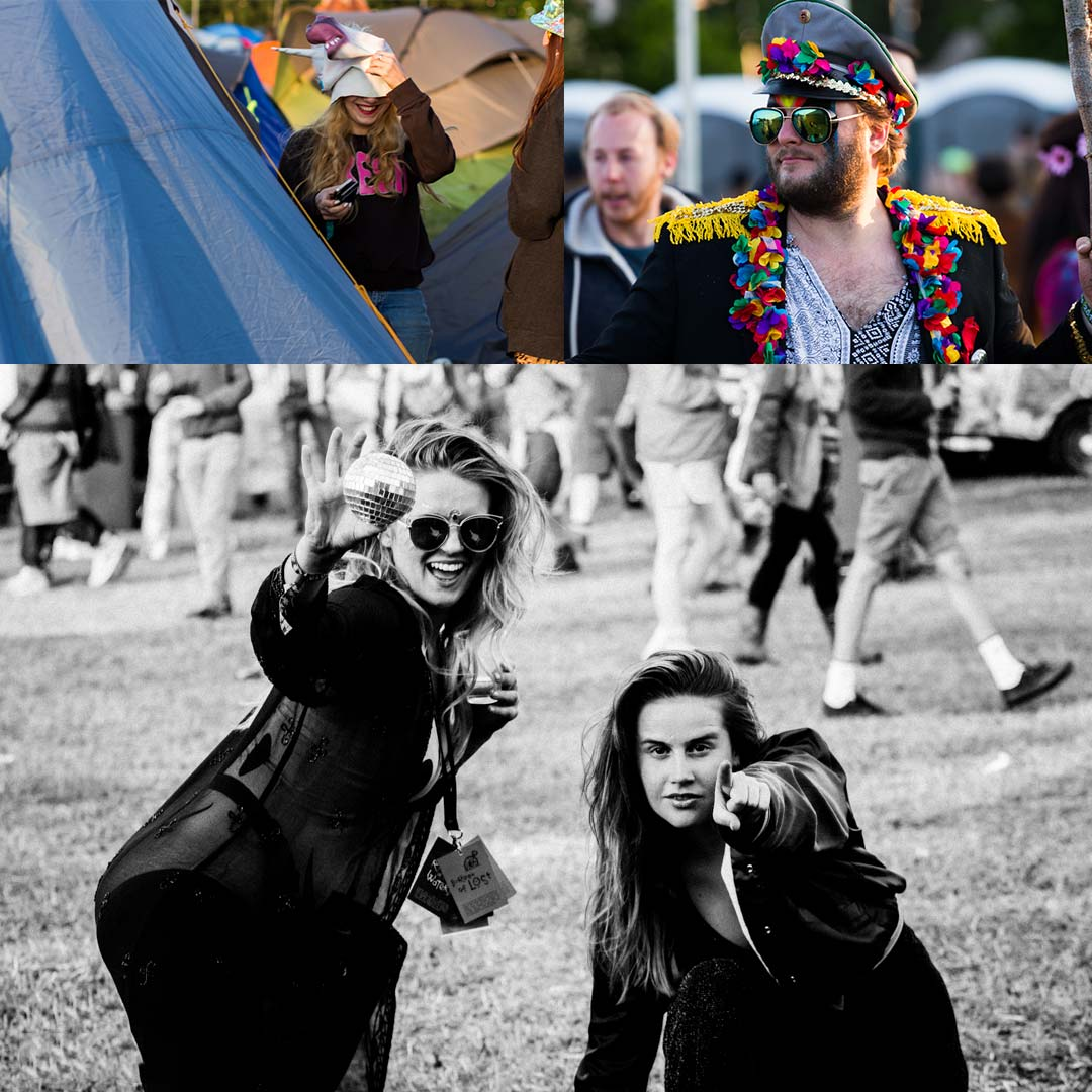 Lost Village Festival Photography Collage 3