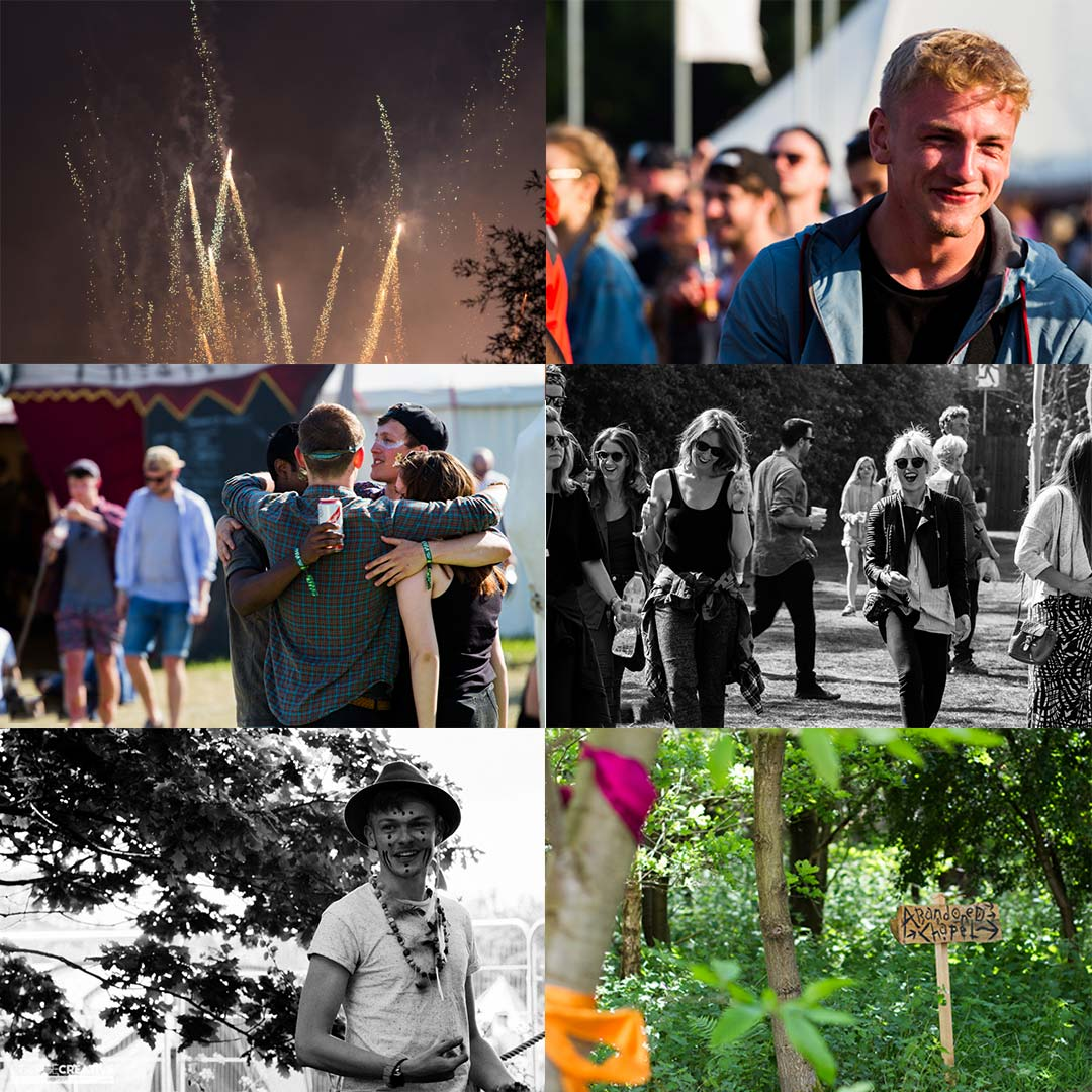 Lost Village Festival Photography Collage 4