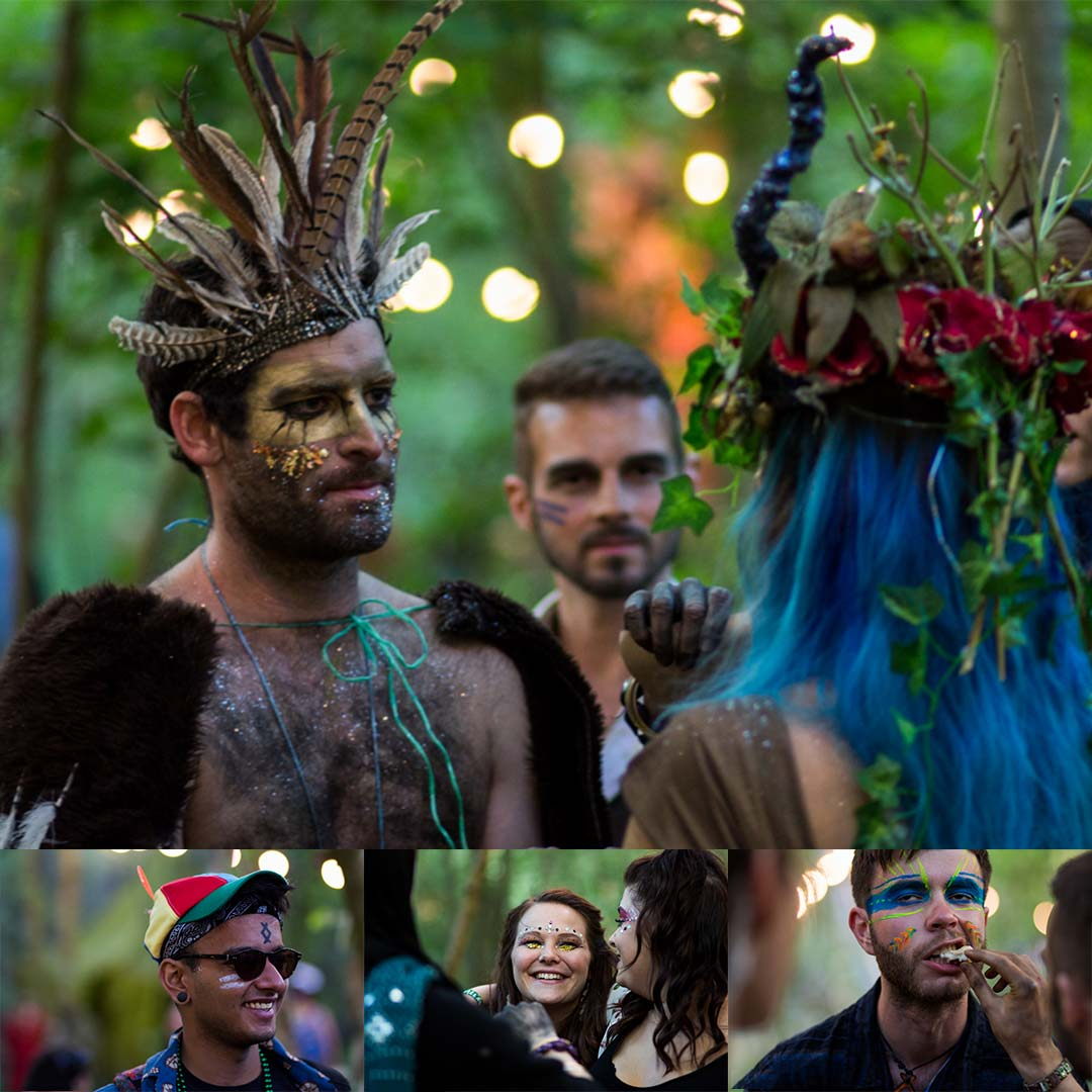 Lost Village Festival Photography Collage 5