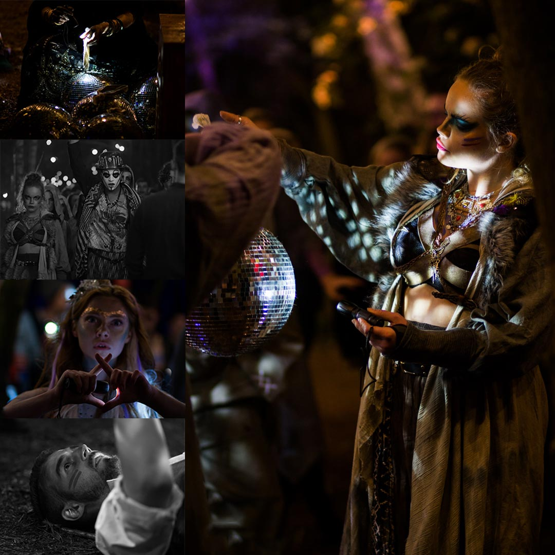 Lost Village Festival Photography Collage 6