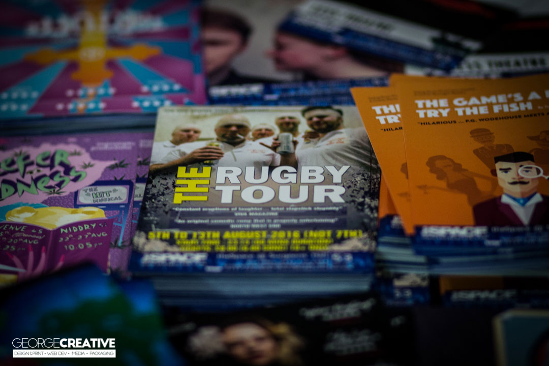 Edinburgh Fringe Photographer - The Rugby Tour 3